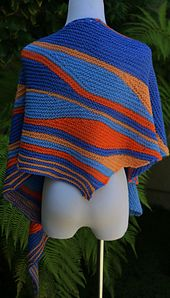 Ravelry: The Newporter Shawlette pattern by Pam Jemelian