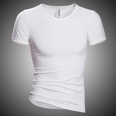 Find More T-Shirts Information about Basic Men T Shirt Short Sleeve T Shirt Elastic Lycra V Neck Male T shirts Camiseta Fitness Men Tshirt Gym Clothing Mens Tee Tops,High Quality clothing vendor,China clothing fabric Suppliers, Cheap tee plain from Women Dress Boutique on Aliexpress.com