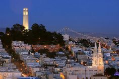 Coit Tower in San Francisco.