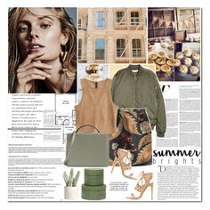"""""""Casual Sunday"""" by makeupgoddess ❤ liked on Polyvore featuring Vanity Fair, Dsquared2, Aquazzura, Balmain, Mark Cross, Allstate Floral, Pigeon & Poodle and KAROLINA"""
