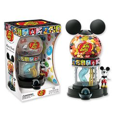 Surprise any Mickey fan with the Jelly Belly Mickey Mouse Bean Machine that comes with a sample bag of jelly beans. Mickey Mouse Gifts, Disney Mickey Mouse, Walt Disney, Minnie Mouse, Jelly Belly Beans, Jelly Beans, Disney Candy, Gifts For Disney Lovers, Candy Companies