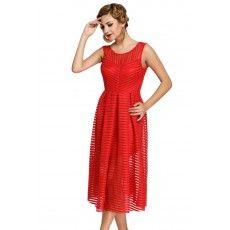 Rochie Midi Red Choice Detalii la http://rochii-dama.com/rochie-midi-red-choice/