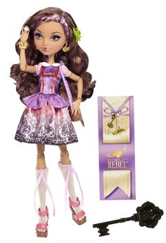 Ever After High Cedar Wood Doll: Start a new chapter with Ever After High, where the teenage sons and daughters of famous fairytales decide whether or not to follow in their parents' fabled footsteps.