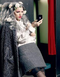Chanel ad campaign.