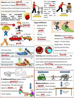 Best Science Design Ideas Force And Motion Ideas Science Project Board, 5th Grade Science Projects, 1st Grade Science, Primary Science, Elementary Science, Engineering Science, Science Education, Science Facts, Science Lessons