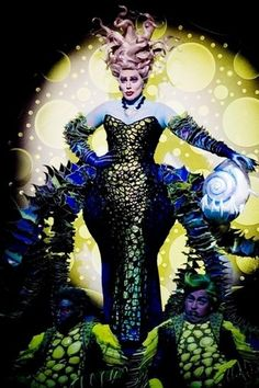 Heidi as Ursula - the-little-mermaid-on-broadway