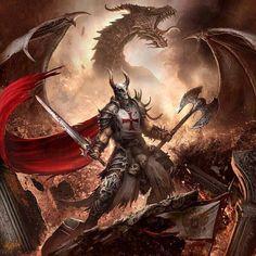 dragon brave fantasy warrior - photo #14