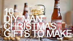 10 Christmas gifts you can make for men! MUST read this!