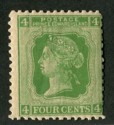 Prince-Edward-Island-14-4c-Green-Cents-Issue-Perf-12-G-50-NH