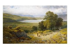 Llandudno Junction, North Wales Giclee Print by Samuel Henry Baker at AllPosters.com