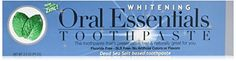Oral Essentials Teeth Whitening Toothpaste without Sensitivity 35 oz Certified NonToxic * You can get additional details at the image link.