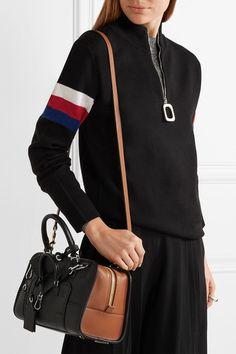 Loewe | Amazona Multiplication small leather tote bag | NET-A-PORTER.COM