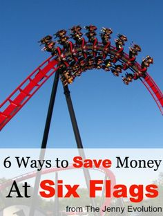 6 Ways to Save Money at Six Flags Ways To Save Money, Money Saving Tips, Saving Ideas, Money Tips, Texas Vacation Spots, Vacation Ideas, Great America, Senior Trip, Singing Tips