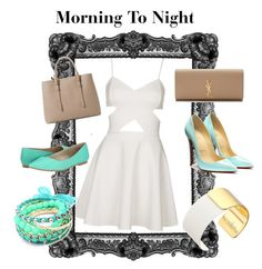 Untitled #2 by eleni-koutsiouba on Polyvore featuring Topshop, BC Footwear, Yves Saint Laurent, MANGO and Kate Spade