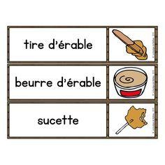 33 Mots Étiquettes du Temps des Sucres Quebec, Preschool, Teacher, Avril, Service, Education, Maple Syrup, Yandex, Canada