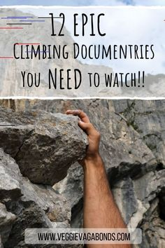 Whether you're an experienced climber or you just want to watch something epic, these climbing documentaries will have you on the edge of your seat, hair on the back of your neck standing on end - enjoy! Rock Climbing Training, Rock Climbing Workout, Rock Climbing Gear, Climbing Wall, Rock Climbing Equipment, Rock Climbing For Beginners, Climbing Technique, Climbing Outfits, Rock Climbing