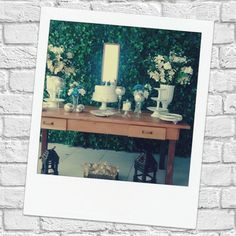 Mesa do bolo é um dos itens de decoração que merece uma atenção especial.