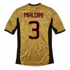 Maglia AC Milan 2013-2014 3rd 3 MALDINI e02aeae5d36bb