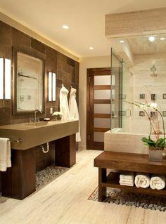 décoration salle de bain zen bambou | Salles de bains in 2019 ...
