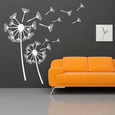 Szablon malarski - Dmuchawce | Paint template - Puff-balls | 35,49 PLN #paint #template #puff_balls #home_decor #interior_decor #design