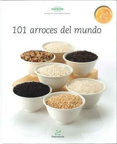 """Cover of elaboraciones con arroz"""" Mexican Food Recipes, Dog Food Recipes, Vegan Recipes, Food N, Food And Drink, Easy Cooking, Plant Based Recipes, Tapas, Food To Make"""
