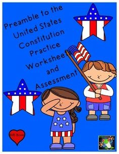 For several years I had my 3rd graders learn and recite the Preamble as part of their yearly curriculum.  When I moved back up to 5th grade, most of the students remembered it from 3rd grade, so it is a great opportunity for students to memorize a great piece of history!