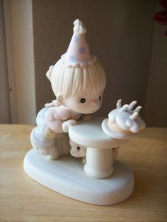 "1992 Precious Moments ""May Your Every Wish Come True"" Figurine"