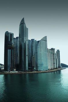 haeundae, busan, south korea #architecture ☮k☮