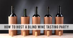 Looking for a fun idea for your next party? Great ideas for How To Host a Blind Wine Tasting Party