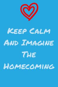 Military homecoming  keep calm