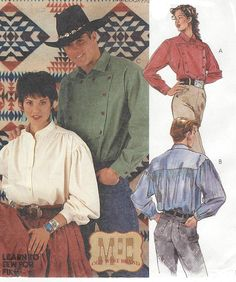 Items similar to McCallu0027s Sewing Pattern 7123 Missesu0027 and Menu0027s Shirt Size Y Sml-Med-Large Uncut on Etsy  sc 1 st  Pinterest & Ahoy lady of the sea pirates wench costume sewing pattern 14-16-18 ...