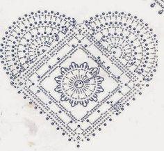 Tecendo Artes em Crochet: Corações Fofos para a Decor de Natal, com Gráficos!