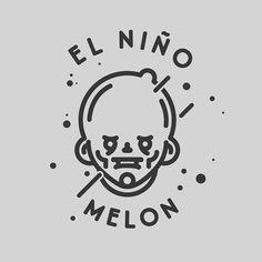 Design of characters. #icon #line #design #symbol #face #art #cartoon #illustration #monkey #elniñomelon  www.rafasanemeterio.com
