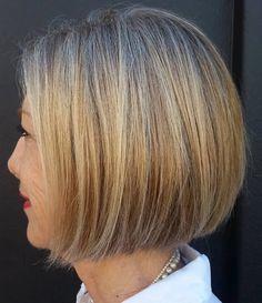 Beige Blonde Hair Color, Bright Blonde, Bob Hairstyles, Straight Hairstyles, Party Hairstyles, Medium Hairstyles, Mid Length Straight Hair, Short Hair Cuts, Short Hair Styles