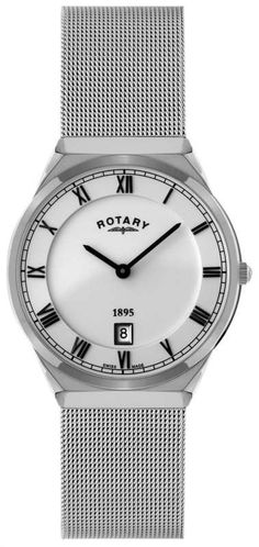 Rotary Stainless Steel Case with Mesh Bracelet Gents Watch - Rotary Watches - Collections - by Samuels Jewelers Mesh Bracelet, Bracelet Watch, Bracelets, Samuels Jewelers, Rotary Watches, Gents Watches, Stainless Steel Case, Omega Watch, Paradise