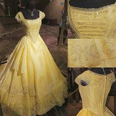 This dress is so beautiful and the live action Beauty and the Beast is amazing! - - This dress is so beautiful and the live action Beauty and the Beast is amazing! Robes Disney, Disney Dresses, Vestidos Emma Watson, Pretty Dresses, Beautiful Dresses, Disney Beauty And The Beast, Beauty And The Beast Dress, Beauty Beast, Beauty And The Beast Wedding Dresses