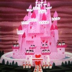 """ Mary Blair concept art for Walt Disney's ""Alice In Wonderland"" (1951) """