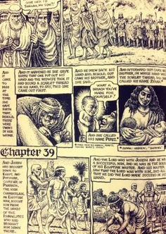The Book of Genesis. Robert Crumb.