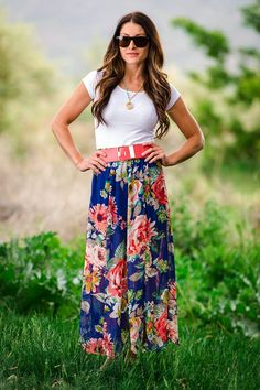 Floral Hymn Maxi Skirt | SexyModest Boutique