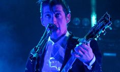 Alex Turner performs at Madison Square Gardens February 2014