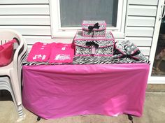 Cheer birthday party , make cheer shirts and cheer bows before the party for all the girls Coming , and have them dress like a cheerleader for the day . That way you look like a team !!!