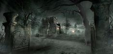 Image result for horror house concepts