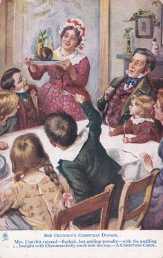Dickens: Bob Cratchit's Christmas Dinner, 00-10s ; TUCK