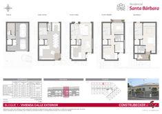 Próximamente más información de los adosado previstos para Moncada. Floor Plans, Architecture, Buildings, Arquitetura, Architecture Illustrations, Architecture Design, Architects