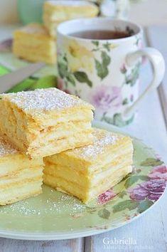 Vasárnapi krémes Hungarian Desserts, Hungarian Recipes, Cookie Recipes, Dessert Recipes, Salty Snacks, Torte Cake, Dessert Drinks, Special Recipes, Sweet And Salty