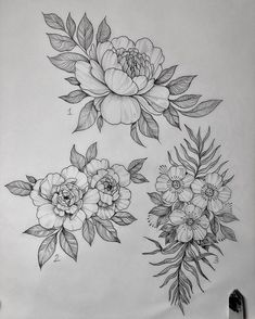 Gonna have this year's last flash day on Sunday the I've been really enjoying having these small piece flash days, they are super fun… Flower Tattoo Designs, Flower Tattoos, Leaf Tattoos, Flower Designs, Flower Line Drawings, Flower Sketches, Hawthorne Flower, Tattoo Drawings, Art Drawings