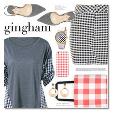 """""""Gingham"""" by fshionme ❤ liked on Polyvore featuring Topshop and gingham"""