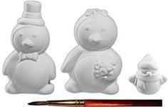 Paint Your Own Happy Ceramic Keepsake The Lovable Penguin