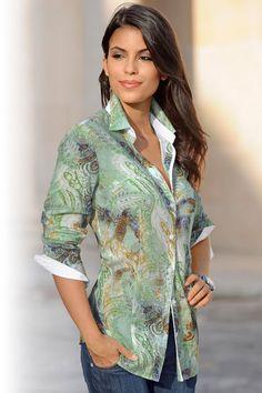 Buy Capture European Printed Shirt online | Shop EziBuy
