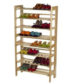 New Shoe Organizer Winsome Clifford Foldable Shoe Rack Solar power system Energy from the Sun Solar 4 Tier Shoe Rack, Wooden Shoe Racks, Diy Shoe Rack, Diy Storage, Closet Organization, Storage Ideas, Kitchen Storage, Storage Organization, Shoe Rack Closet